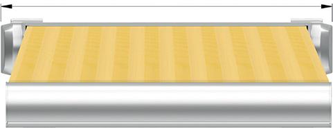 Ширины маркизы Decolife G500